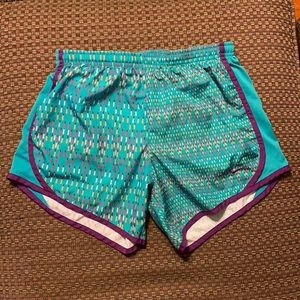 Nike Teal Speckled Athletic Shorts!